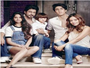 xondhan shahrukh khan and family
