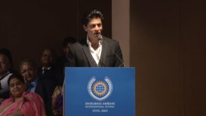 xondhan shahrukh khan giving speech